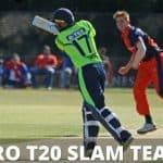 Euro T20 Slam Teams and League Format