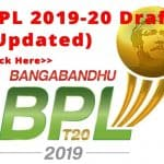 BPL T20 2019-20 Live Streaming and Broadcasting Channels
