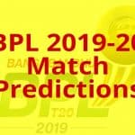 BPL 2019-20 Opening Match Predictions