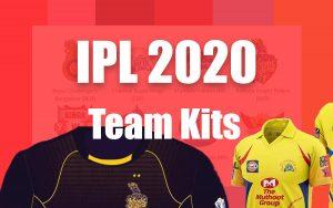 IPL 2020 Kits - All Team Jersey Designs