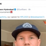 IPL 2020: David Warner Reinstated as Sunrisers Hyderabad's captain