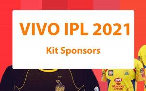 Vivo ipl 2021 jersey sponsors