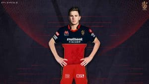 Adam Zampa in RCB Team