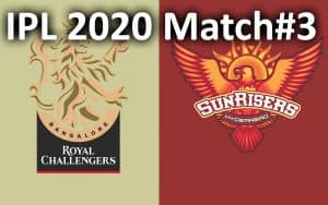 IPL match 3 - SRH vs RCB pitch report, venue, playing11