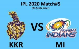 KKR vs MI Playing 11, Pitch Report, How to Watch Online