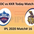 IPL 2020 Match 16: DC vs KKR Pre Match Prediction, Playing 11 and Pitch Report