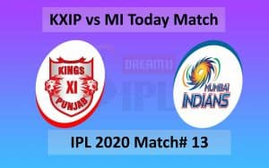 KXIP vs MI - IPL 2020 - Match 13 - Abu Dhabi - Sheikh Zayed Stadium - 01 October