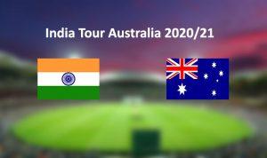 India Tour Australia 2020-21