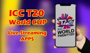ICC t20 world cup 2021 live streaming apps